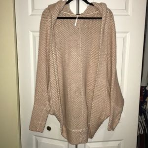 Slouchy free people cardigan